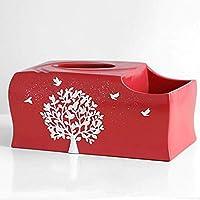 WY-YAN ジュエリーアートクラフトティッシュボックスリビングルームのコーヒーテーブル家庭用ナプキンデスクトップ収納ボックス10