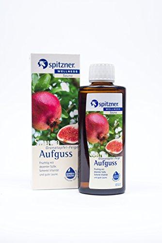 """Saunaaufguss """"Granatapfel-Feige"""" (190 ml) von Spitzner"""