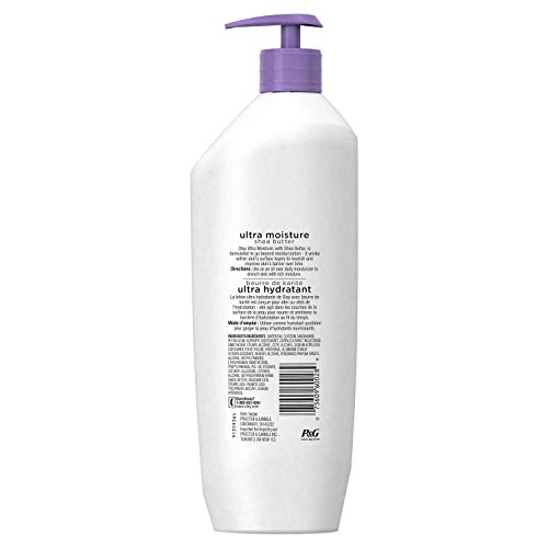 Olay Quench Ultra Moisture Shea Butter Body Lotion, 20.2 fl oz
