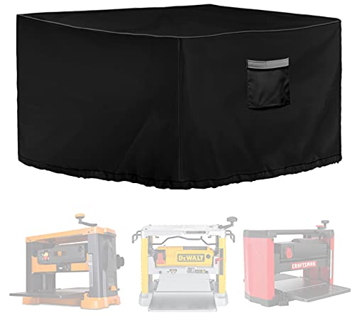 """MBOOM Benchtop Planer cover, effective protection tablesaw from water and dust, black 27""""(L)24""""(W)19""""(H)"""