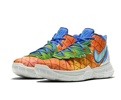 Nike Kyrie 5 Spongebob Pineapple (GS) 5.5Y Orange Peel/Teal Tint