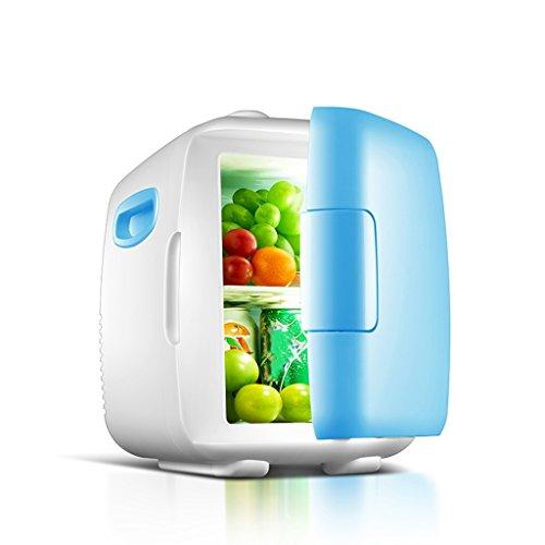 ZHDWM stille mini-koelkast met een verhoging van de temperatuur, auto en voor thuisgebruik, koelkast en auto