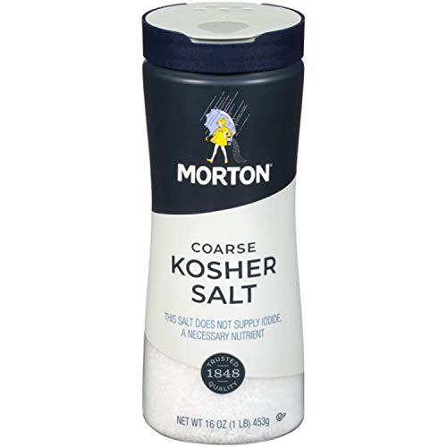 Morton Sal Gruesa Kosher, 453 g (16 oz)