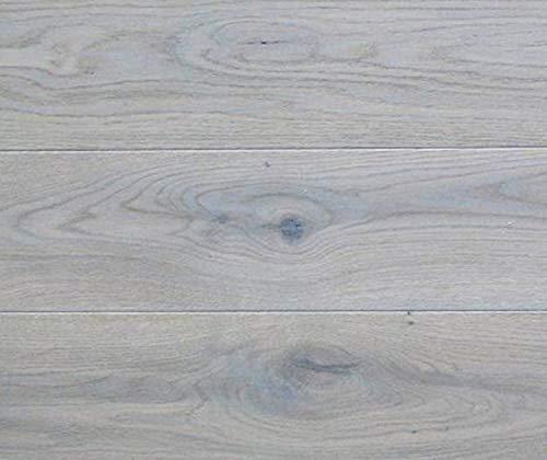 HORI® Parkett 300 Eiche Various grau gebürstet Landhausdiele 1-Stab mit Fase matt versiegelt I für 33,10 €/m²