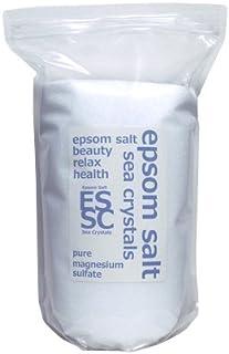 シークリスタルス 国産 エプソムソルト (硫酸マグネシウム) 入浴剤 4㎏約26回分 浴用化粧品 計量スプーン付 無香料