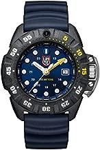 Luminox Mens Wrist Watch Scott Cassell Deep Dive Edition 45mm Black Case Blue Dial (XS.1553): 300 M Water Resistant + Crystal Sapphire + Divers Bezel