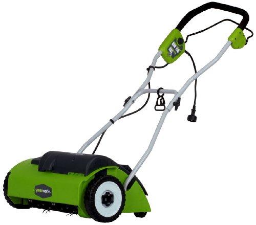 GreenWorks 27022 10 Amp 14' Corded Dethatcher/Scarifier