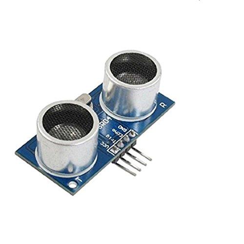 Demarkt Ultraschall-Abstandssensor HC-SR04 Entfernungsmesser Ultrasonic für Arduino,Ultrasonic Module HC-SR04 Distance Sensor