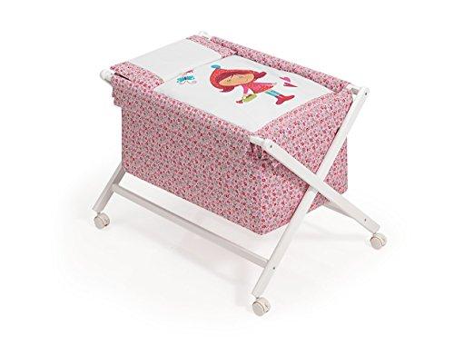 Interbaby Berceau Ciseaux le petit chaperon rouge rose
