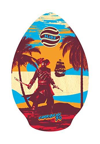 Slidz Carribean - Tabla de skimboard, rojo