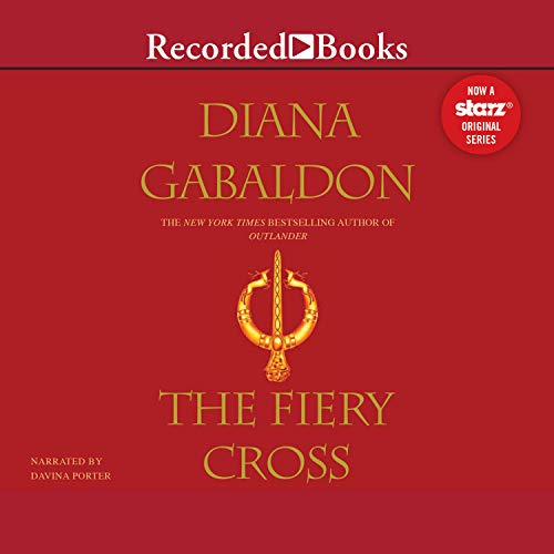 Diseño de la portada del título The Fiery Cross