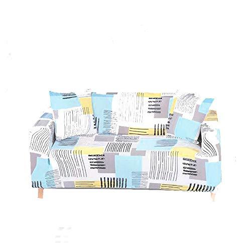 B/H Tejido elástica Cubiertas de sofá,Fundas de sofá elásticas para Muebles de Sala de Estar Totalmente Envuelto Anti-dus-22_235-300cm_China,poliéster y Elastano Funda sofá