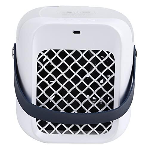 Pwshymi Air Cooler Mini USB Recargable de Oficina para Mesa de Comedor casera 300ml(Blue, Insect)