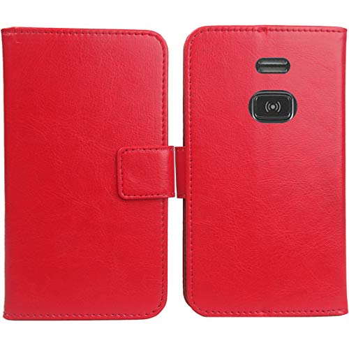 Lankashi PU Leder Tasche Hülle Für Doro PhoneEasy 508 1.8