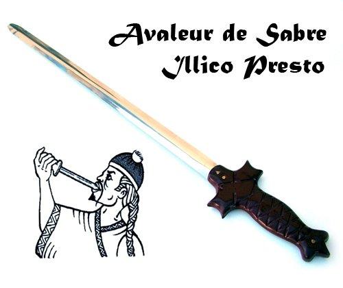 Espada de fakir - Juego de Magia