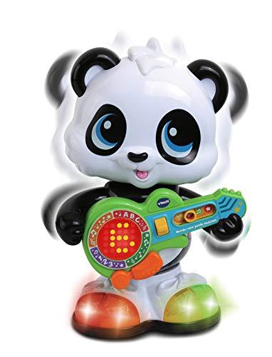 VTech - Mambo, Mon Panda Musicien, Animal musical, Jouet bébé / Jouet 12-36 mois – Version FR
