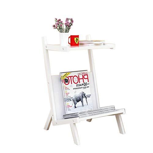 Jcnfa-bijzettafel Modern Sofa-side Koffie Tafel/Tijdschriftrek, Nachtkastje, Book Racks, Montagestijl, Koolstofstalen buis