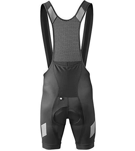 AERO|TECH|DESIGNS Elite Endurance Bib Shorts - Made in The USA (X-Large, Black)