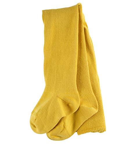 FALKE Unisex Baby Matt Deluxe 30 DEN W TI Strumpfhosen, Gelb (Spicy Mustard 1473), 74-80