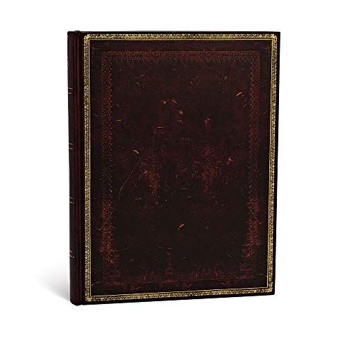 Black Moroccan Ultra Lined Journal (Old Leather Classics)