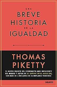 Una breve historia de la igualdad par Thomas Piketty