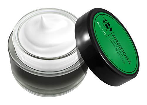 BALATO Crema facial para pieles grasas. Adiós a las impurezas, los poros dilatados y el acné. Con aloe vera, salvia, almidón de maíz y vitamina E.