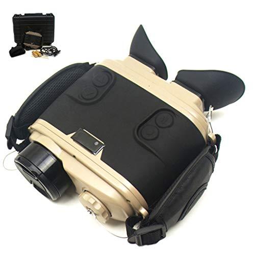 Digital Cilindro Doble Infrarrojo Vision Nocturna, HD Gran Aumento Recargable Telescopio de Visión Nocturna, Efectiva...