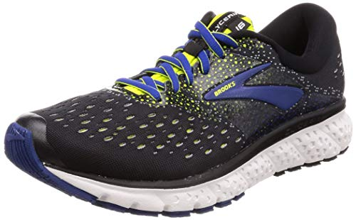 Brooks Glycerin 16, Zapatillas de Running para Hombre, Negro (Black/Lime/Blue...