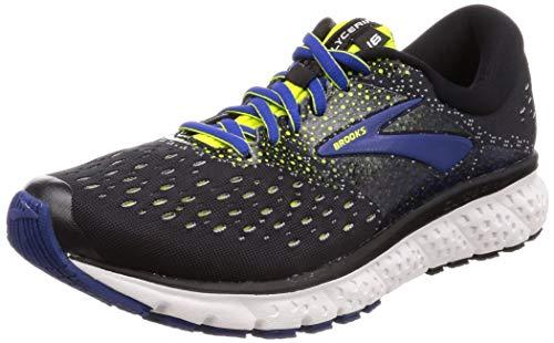 Brooks Glycerin 16, Zapatillas de Running para Hombre, Negro (Black/Lime/Blue 050), 46...