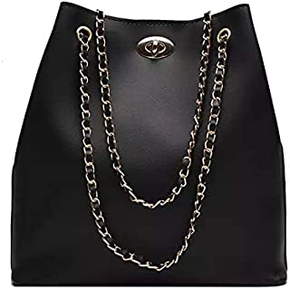 Bizarre Vogue Women's Shoulder Bag (BV1228_Black)