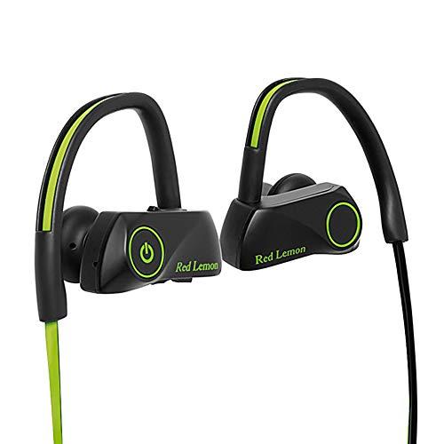 Red Lemon Bolt S280 Bluetooth Sports Stereo Wireless IPX7 Waterproof Headphone (Green-Black)