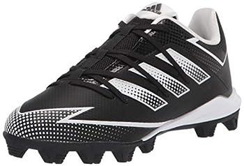 adidas EG7624 Baseball Shoe Black/White/Black 4.5 US Unisex Little Kid