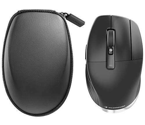 3Dconnexion CadMouse Pro Wireless 3DX-700078 Professional Wireless Ergonomic Optical Mouse With Dedicated Middle Button