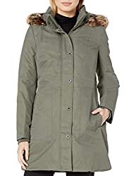 in budget affordable Women's Hoodie Anne Klein Fugu Olive X-Small