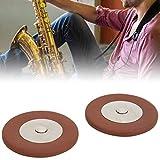Almohadillas de cuero para saxofón de varios tamaños para todos los saxofones altos
