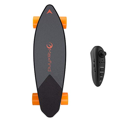 LSXX Elektrische skateboard voor reizen, professioneel skateboard, 28 km bereik, 100 kg draagvermogen, Tesla-Like accu