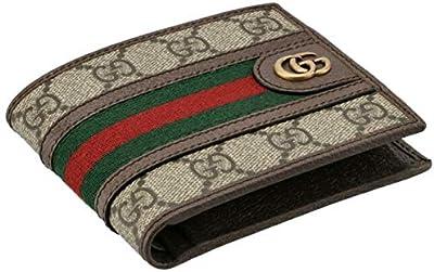 GUCCI(グッチ) 財布 メンズ OPHIDIA 二つ折り財布 B.EB/N.ACERO/VRV 597609-96IWT-8745 [並行輸入品]