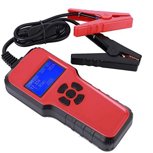 Probador de capacidad de batería Analizador de batería 6V-18V Prueba de arranque Batería de coche para batería de arranque de 12V