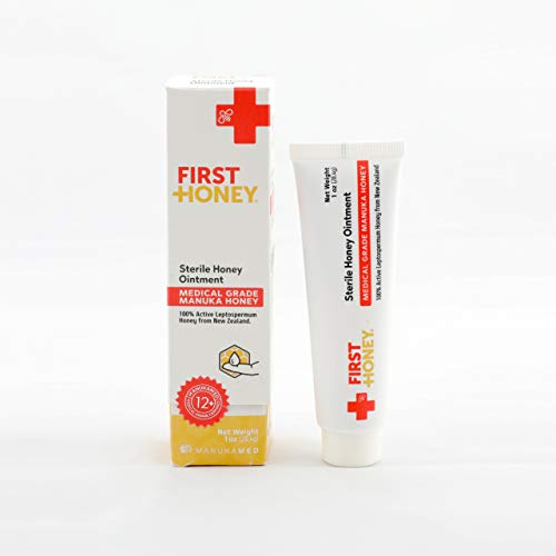 First Honey| Sterile Honey Ointment | 100% Active Manuka Honey | Reduces...