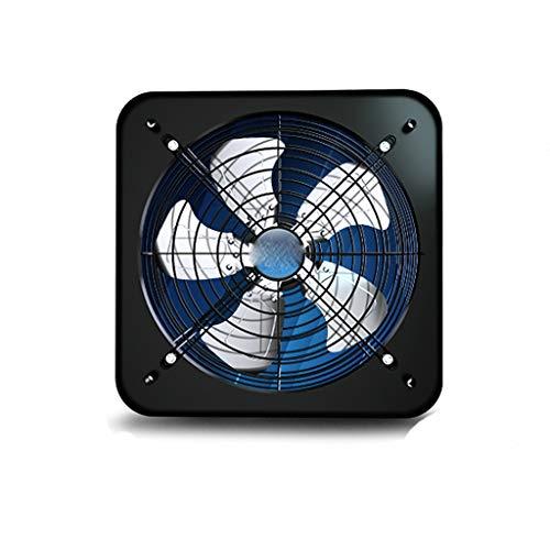 YOUCHOU Extractor, Extractor de Cocina, Extractor de Humos de Aceite doméstico, Ventilador de ventilación Tipo Ventana, Extractor silencioso y Potente