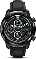 Ticwatch Pro 3 GPS Smartwatch for Men and Women, Qualcomm® Snapdragon Wear™ 4100 Platform,Wear OS by Google, Dual-Layer...