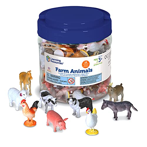 Top 10 best selling list for learning resources farm animals counters set of 60