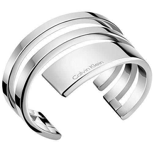 Calvin Klein Damen-Armreifen Edelstahl KJ3UMF00010M