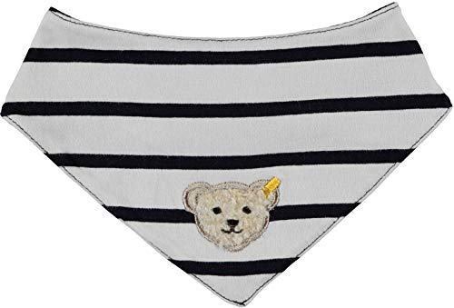 Steiff Baby Jungen Dreieckstuch gestreift Marine 6913050