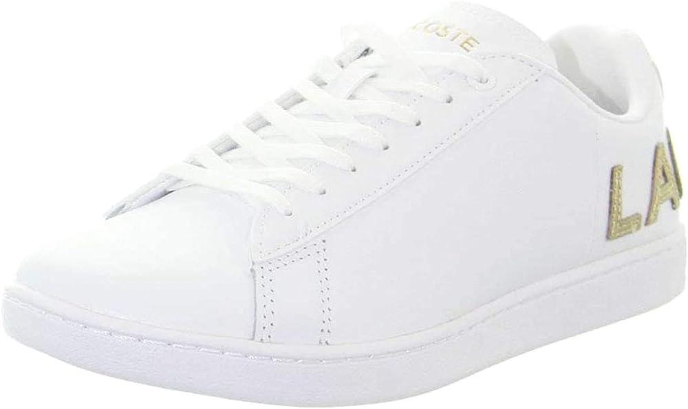 Lacoste carnaby evo,scarpe sportive,sneakers per donna,in pelle 39SFA0034