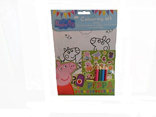 Anker PECST Peppa Pig Kit de coloriage