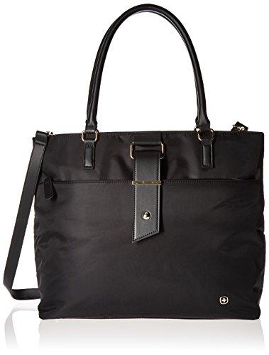 "Wenger Luggage Ana 16"" Women's Laptop Tote, Black, One Size"