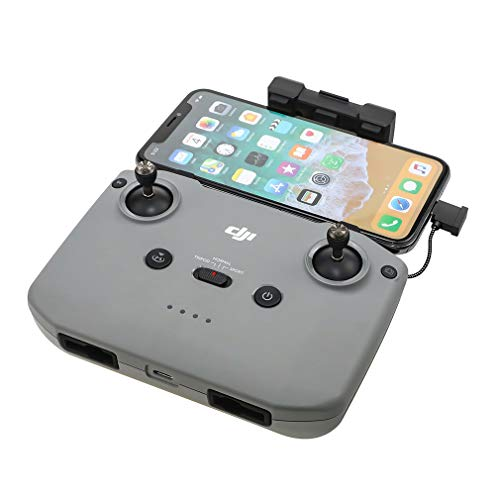 Penivo Fernbedienung iOS Android Typ C Kabel kompatibel mit DJI Mavic Air 2 Drohne Anschluss Telefon Tablet Datenübertragung Draht Zubehör 16 cm langes Android-Kabel.