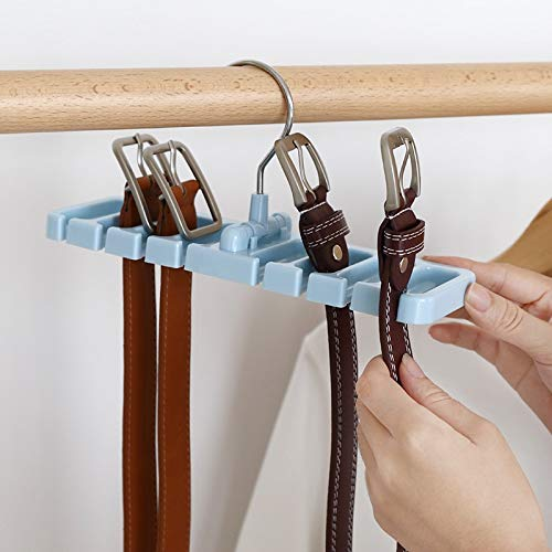 Tucson Clothes Hanger Clothes Drying Rack Multi-Function Plastic Scarf Clothes Belts Hangers Hangers Straps Tie Storage Racks Holders