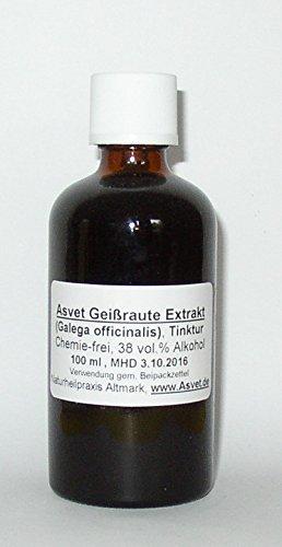 Asvet 100ml Geißraute Extrakt, Tinktur, Tropfen, Galega Konzentrat, höchste Qualität